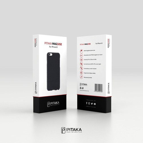 High-end packaging with the title 'Package design SOLUTION (structure and graphic designs)'