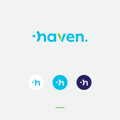 Trend logo with the title 'Haven logo'