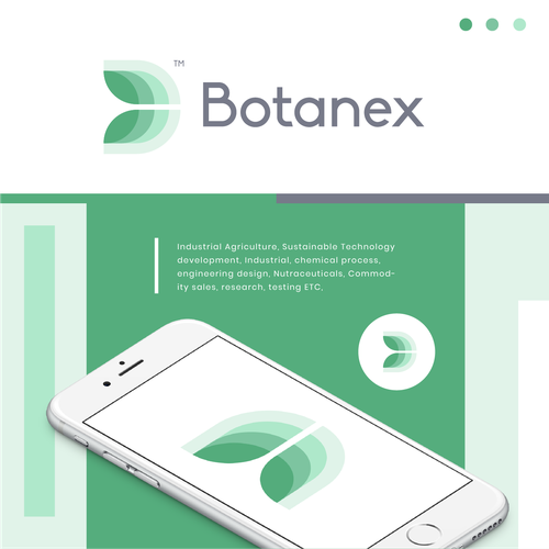 Research design with the title 'Botanex'