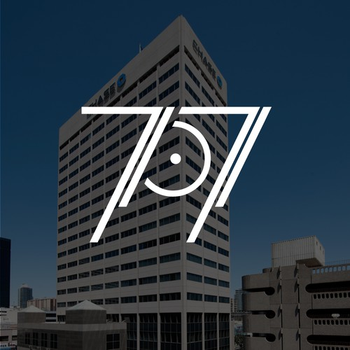 Innovative design with the title 'Logo for a high rise commercial office building'