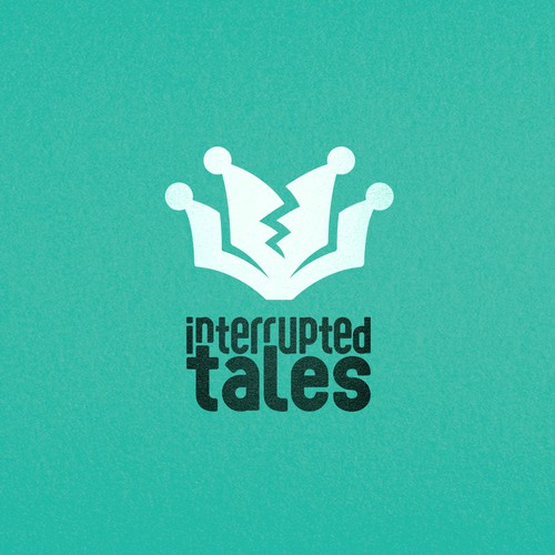 Comedy design with the title 'Interrupted Tales'
