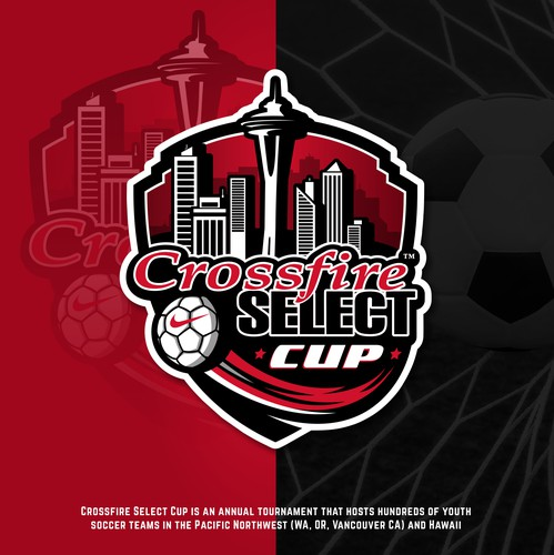 Sport club logo with the title 'Crossfire Select Cup (logo)'