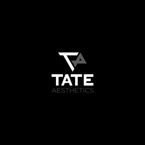 Aesthetic logo with the title 'Logo for Tate Aesthetics'