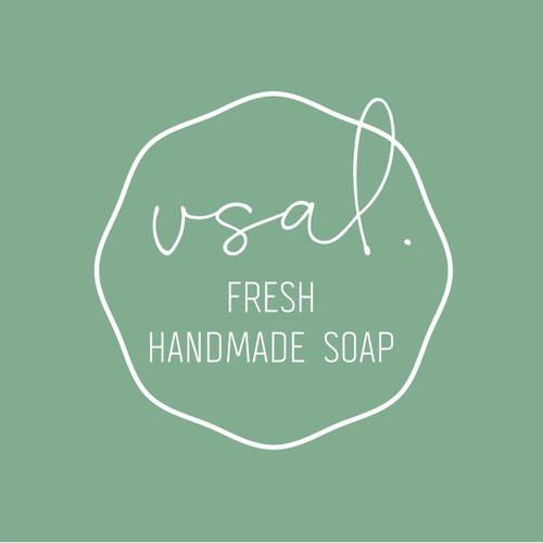 Cosmetics logo with the title 'Logo concept for a Luxury Soap brand'