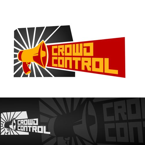 SEO logo with the title 'Crowd Control! - logo for marketing package/product'