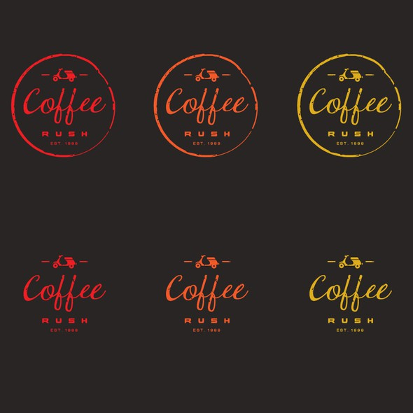 Cafe bar logo with the title 'logo for a coffee bar'