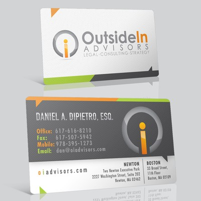 Stationery for Outside In Advisors, LLC