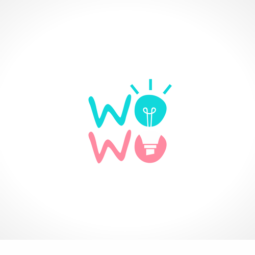 Bright idea logo with the title 'Wowo'