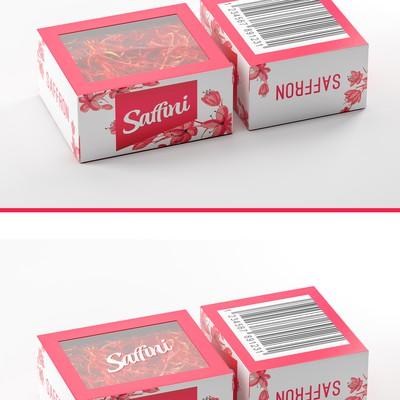 藏红花有吸引力的包装
