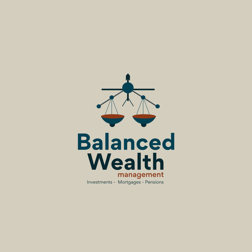 Sketching logo with the title 'Logo For Wealth management company '