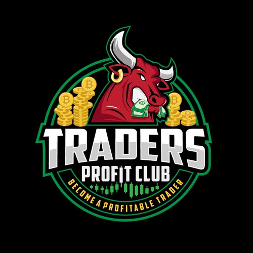 Trade logo with the title 'Traders Profit Club'