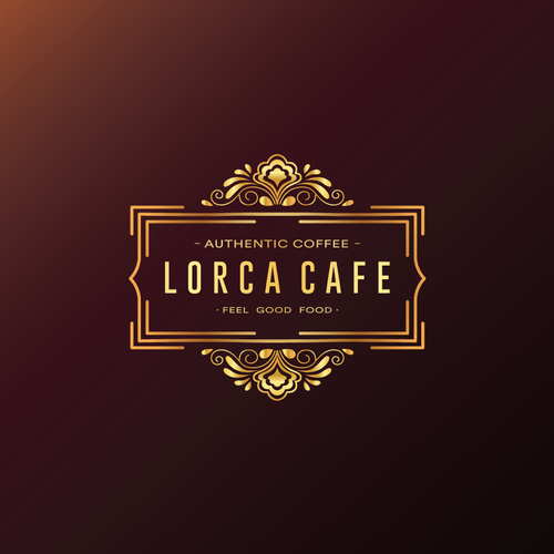 Latin logo with the title 'Logo for Spanish Themed Cafe'