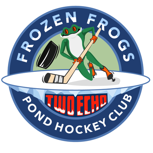 Skating design with the title 'frozen frog'