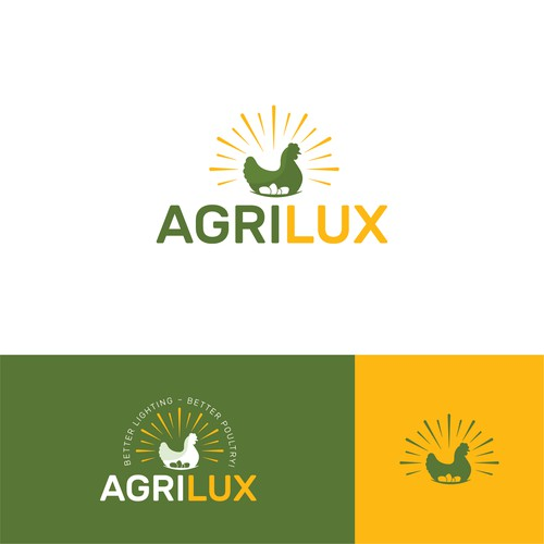 Light brand with the title 'AgriLux'