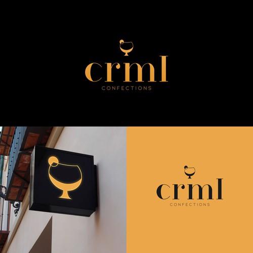 Caramel design with the title 'Logo design '