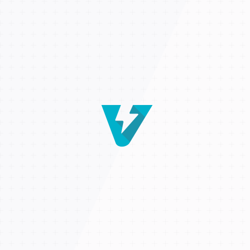 Velocity design with the title 'Modern and abstract monogram'