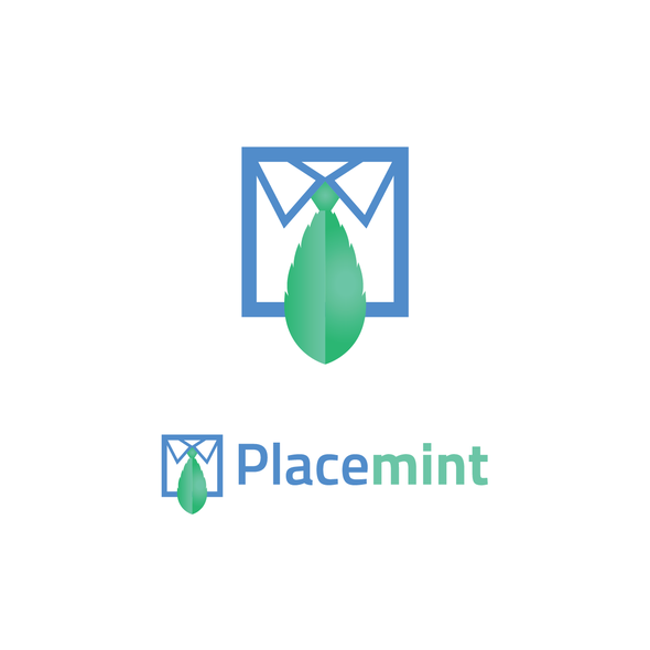 Recruitment logo with the title 'Placemint'