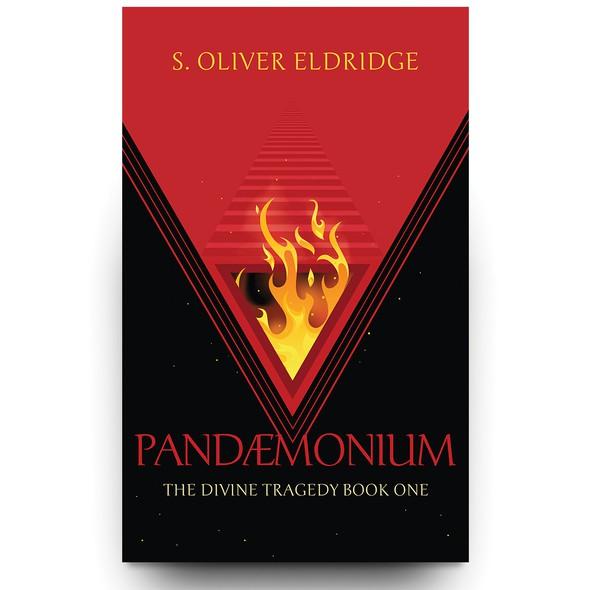 Portal design with the title 'Pandæmonium - Book Cover Design'