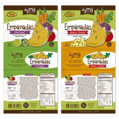 素食主义者食物启动的标签设计。