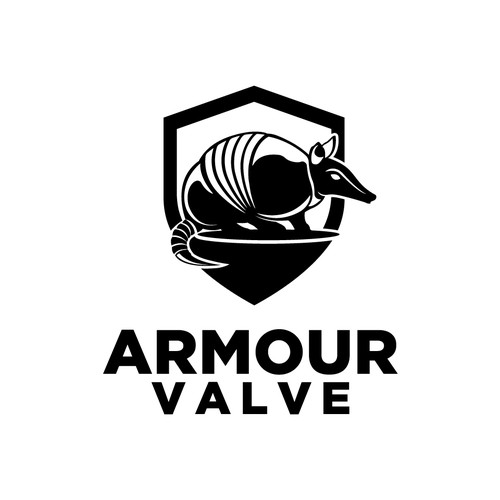Armadillo logo with the title 'Armour Valve'