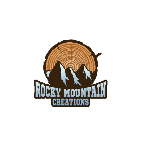 Climbing design with the title 'Mountain logo'