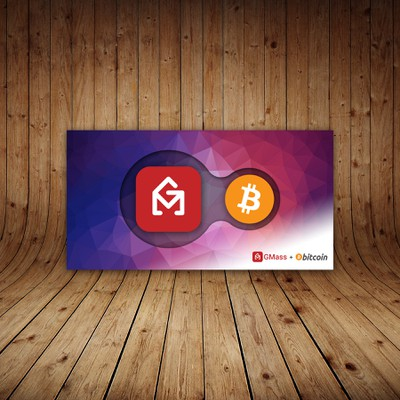 Facebook banner for a software and bitcoin intgration