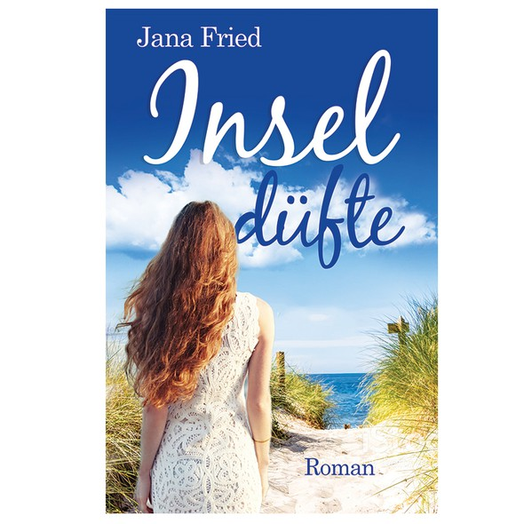 Seaside design with the title 'Insel düfte'