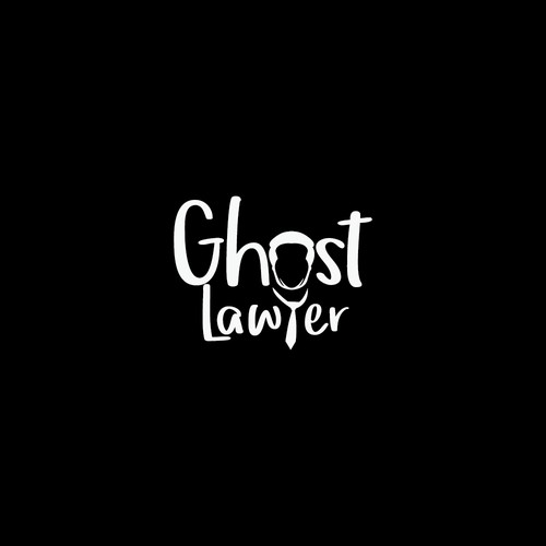 Associate logo with the title 'Simple and unique Logo concept for Ghost Lawyer'