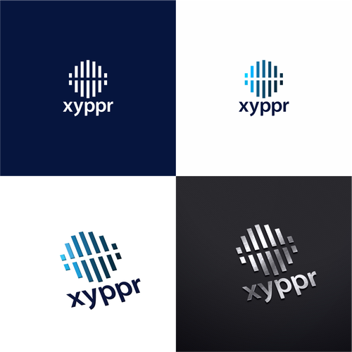 Hospital logo with the title 'xyppr healthcare logo'
