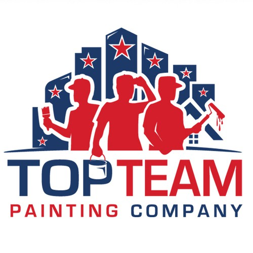 Residential logo with the title 'Modern logo for a Painting Company'