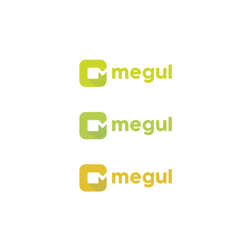 M logo with the title 'megul'