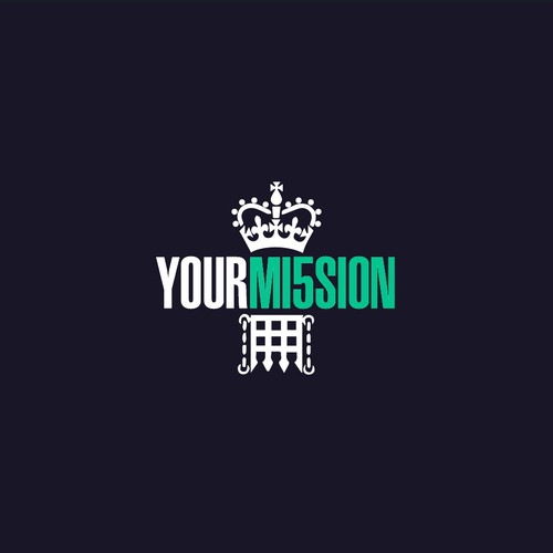 Spy design with the title 'YourMission Logo design concept'