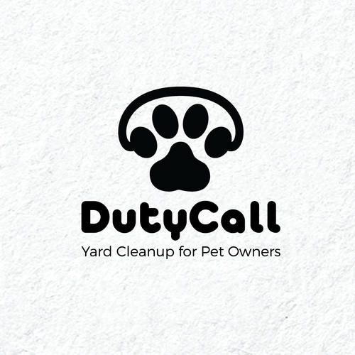 Telephone design with the title 'Duty Call'