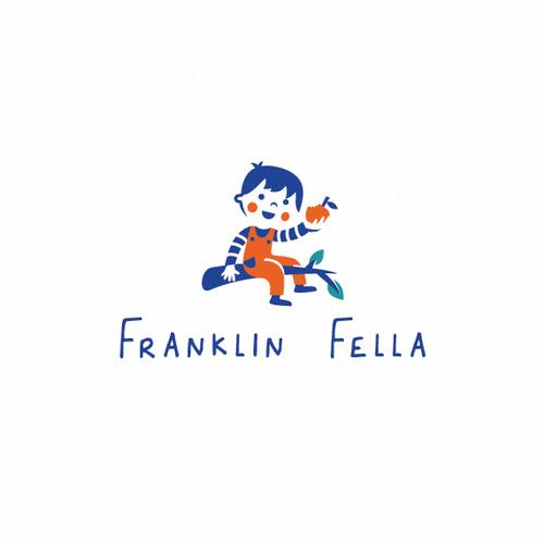 Boy design with the title 'Franklin Fella'