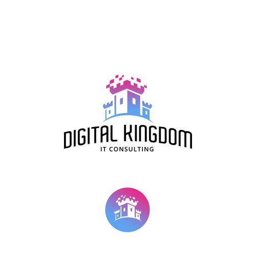 Kingdom design with the title 'Digital Kingdom'
