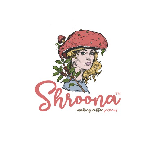 Mushroom design with the title 'Shroona'