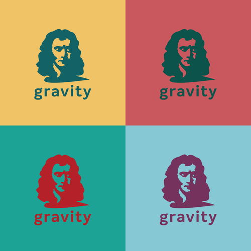 Pop art design with the title 'Newton Logo'