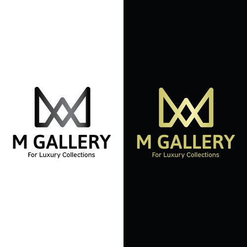 Gallery brand with the title 'M Gallery logo'