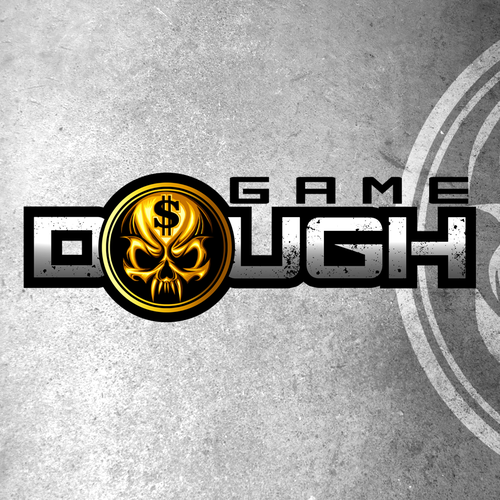Gritty logo with the title 'Game Dough'