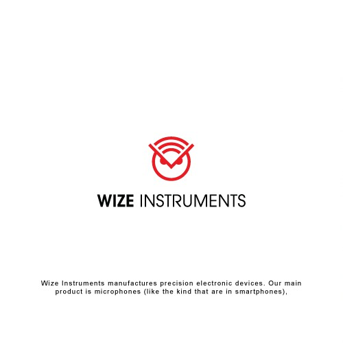 Wisdom design with the title 'Logo for Wize Instruments'