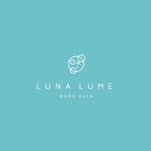 Moon brand with the title 'Create a modern and luxurious logo for Luna Lume'