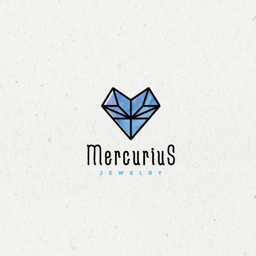 Alchemy design with the title 'Mercurius'