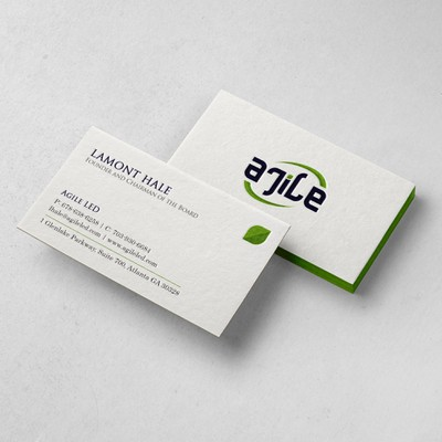 Agile Business Card