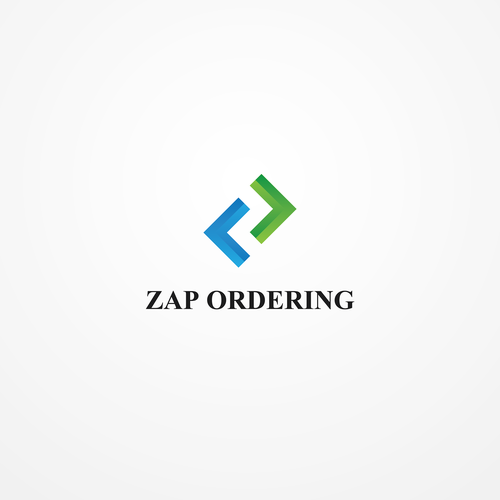 Order logo with the title 'zap ordering'