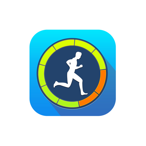 Exercise design with the title 'Creative and Simple iOS Fitness App needs a captivating icon'