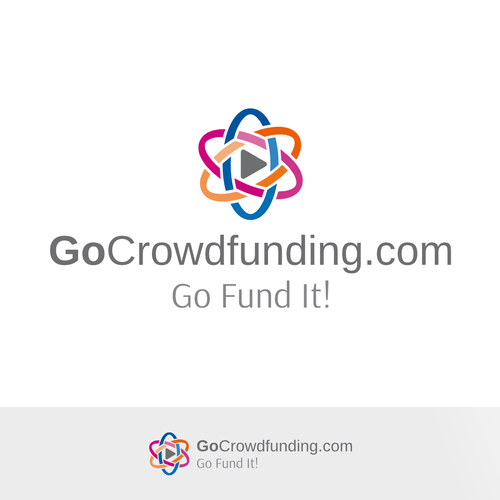 Crowdfunding logo with the title 'Let Get Start for crowdfunding initiative'