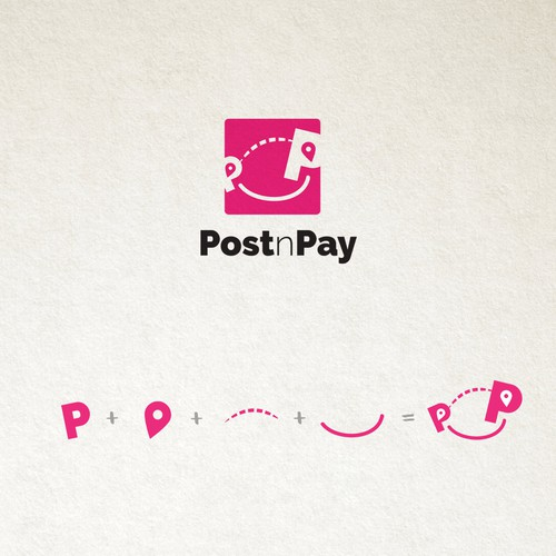 Pay logo with the title 'POST AND PAY SERVICE'
