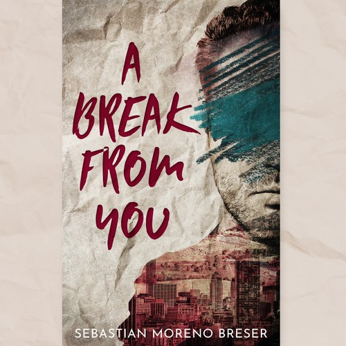 Vintage book cover with the title 'A Break From You'