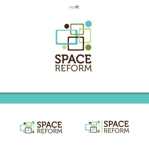 Organizer design with the title 'Space Reform'