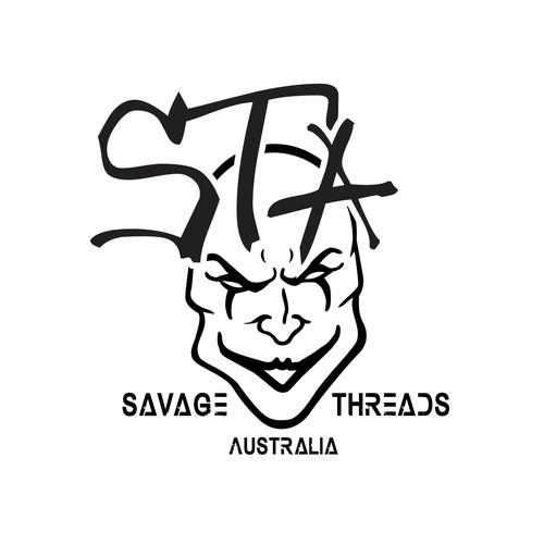Joker design with the title 'Sleek Street Art Design for clothing Store'